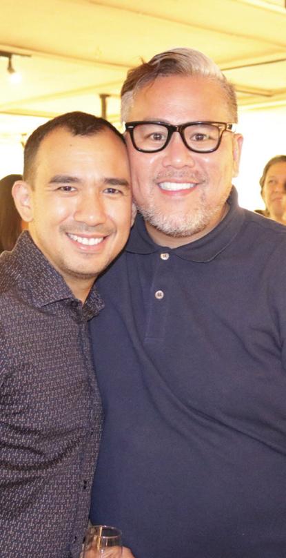 Jaime Ponce de Leon and Rajo Laurel