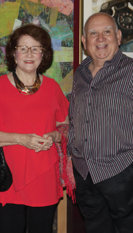 Dolly Montenegro and Edu Jarque