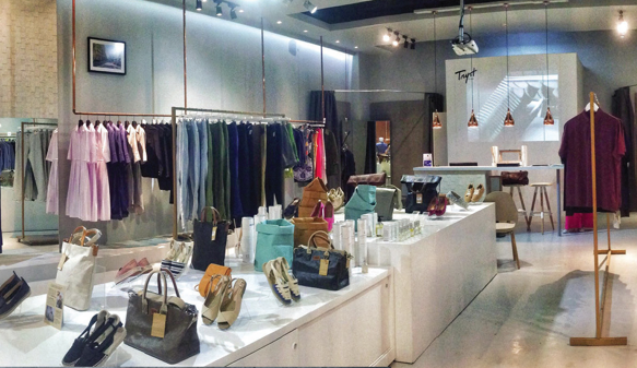Newly renovated Tryst Studio in Power Plant Mall is a haven for classic and contemporary independent European brands