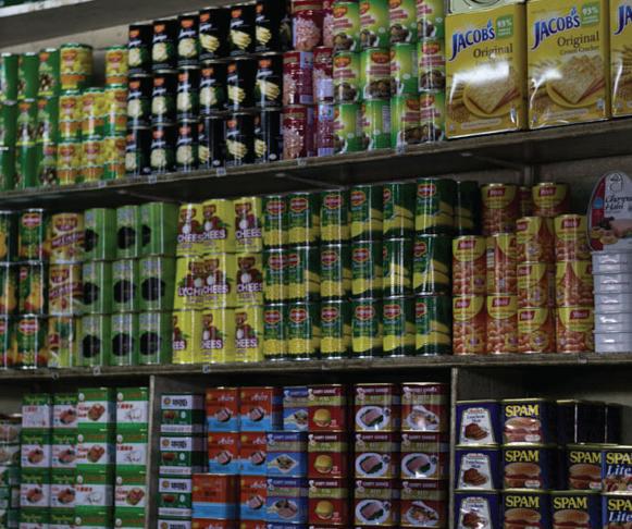 Malaysian Goods at Barter Trade Center