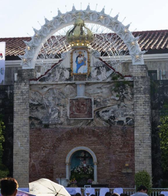 The Shrine of Nuestra Señora La Virgen del Pilar de Zaragoza inside Fort Pilar